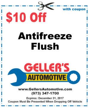 $10 Off Antifreeze Flush