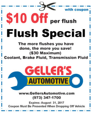 Flush Special – $10 Off Per Flush