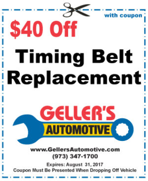 $40 Off Timing Belt Replacement