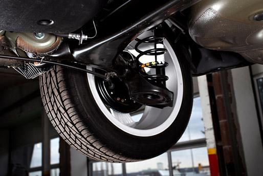 Let Geller's Automotive handle your suspension system repair needs.